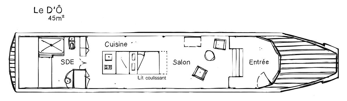 Plan bateau Nantes